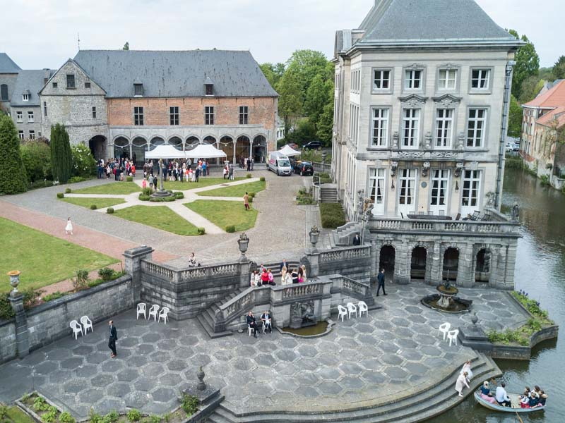 Château fort de Feluy - Wedding ceremony & party castle, Belgium